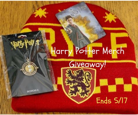 Harry Potter Giveaway - harry potter wizarding world merch giveaway ends 5 17 the homespun chics
