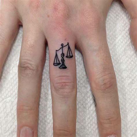zodiac tattoo placement libra zodiac tattoo on finger libra tattoos pinterest