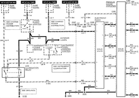 ford laser wiring diagram stereo solved visual diagram of a 1990 ford mustang radio wiring