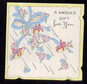 gift cards for bridal shower vintage recycling wwii war 1940s bridal shower cards