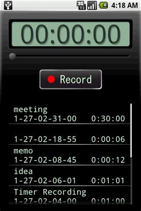 recording app for android android app of the day voice recorder theunlockr