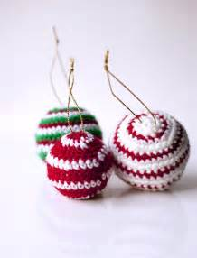 sofia sobeide crocheted christmas ornaments baubles