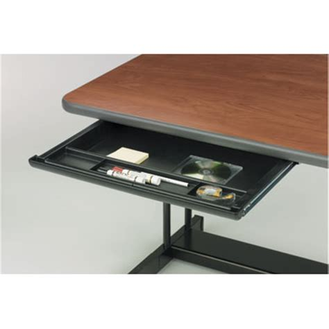 Pull Out Desk Drawer by Center Drawer Mounts Classroom Furniture Accessories