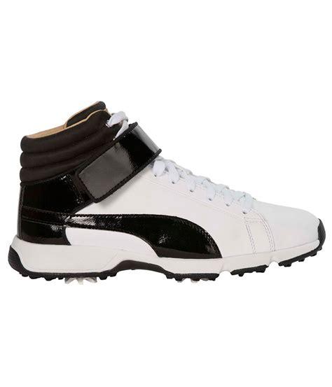 boys golf shoes boys titantour hi top se shoes golfonline