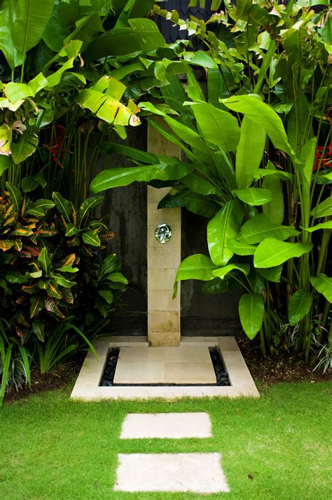 stunning outdoor shower spaces     urban