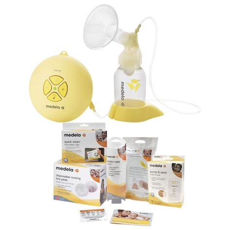 Breast Medela Swing by Medela Swing Breast Solution Set Breast Pumps