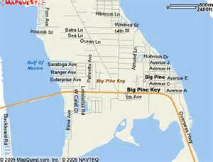 big pine key map