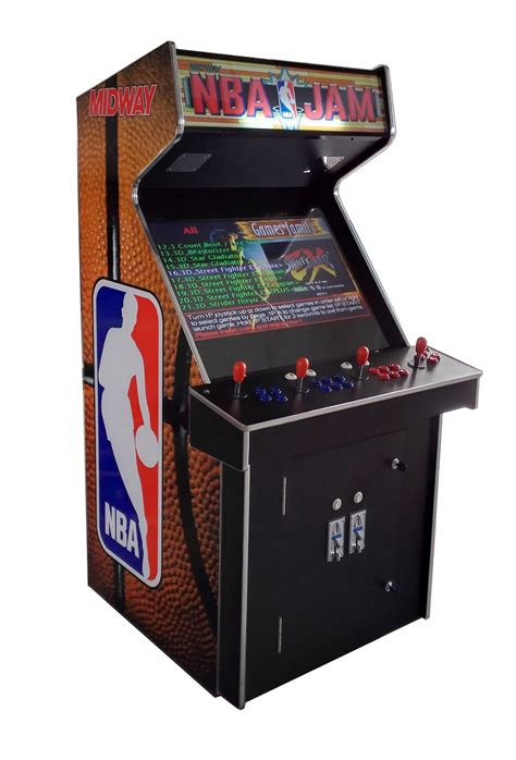 console arcade cabinet arcade rewind 3500 in 1 upright arcade machine with nba jam