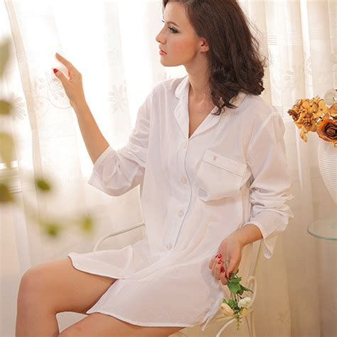 Nk10513 Pocket Cotton B Baju Kemeja Putih White Kode Mp10513 compare prices on button nightshirt shopping buy low price button nightshirt at factory