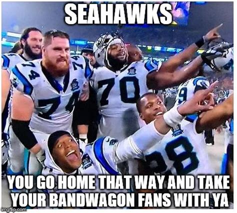 Seahawks Bandwagon Meme - carolina panthers imgflip