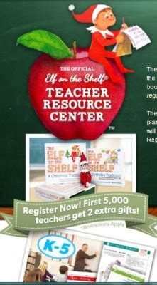 Elf On The Shelf Teacher Giveaway - free elf on the shelf giveaway for teachers first 5 000