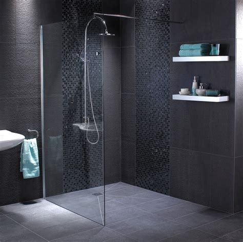 black bathroom tiles fossil matt 600x600 black floor tile dem fmb6060 wall