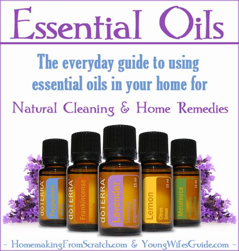 using essential oils for cleaning home remedies