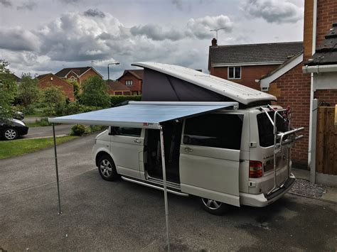 vw transporter t5 awning fitting a fiamma f45s awning to t5 transporter