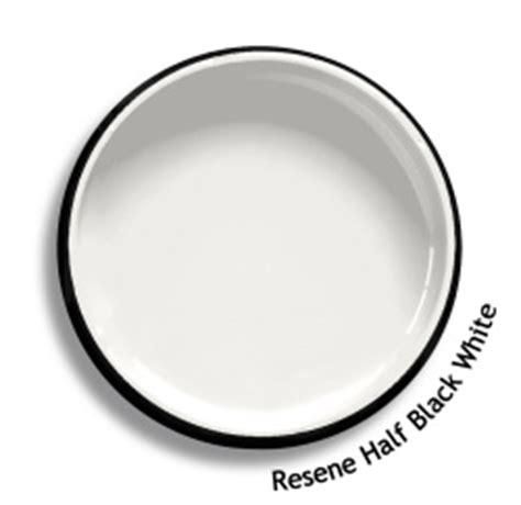 resene wallpaper black and white resene half black white colour swatch resene paints
