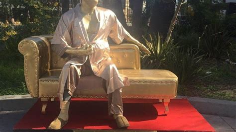 casting couch las vegas golden weinstein statue pops up in la created here in las