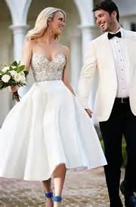 choosing a wedding reception dress