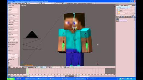 blender tutorial cz minecraft blender tutorial pr 225 ce s postavou cz youtube