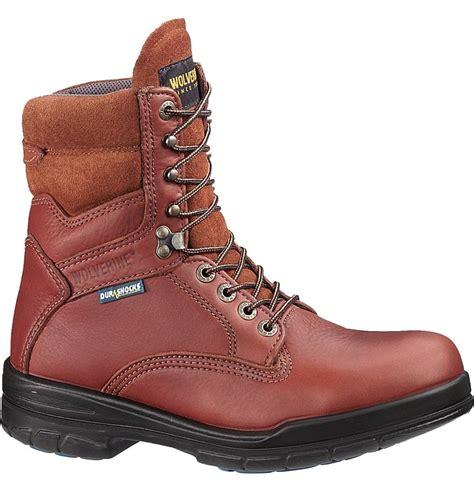 wolverine durashock boots wolverine durashock 8 inch steel toe work boot w03124