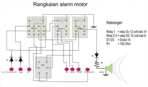 Alarm Anti Maling Pada Motor membuat kunci anti maling pada motor rahmat s