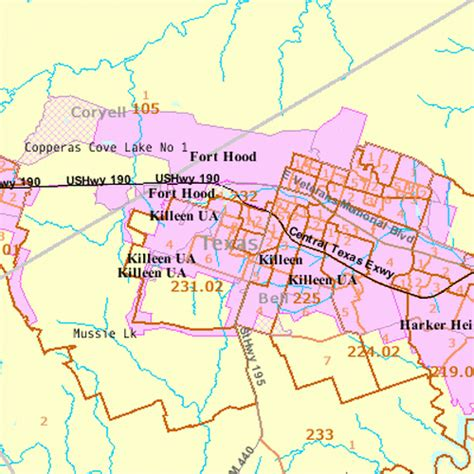 map of killeen texas and surrounding cities fort map jorgeroblesforcongress