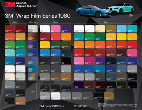 3m 1080 colors eight exciting new colours from the 3m wrap series