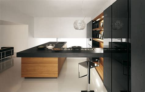 modern kitchens  wooden finish digsdigs