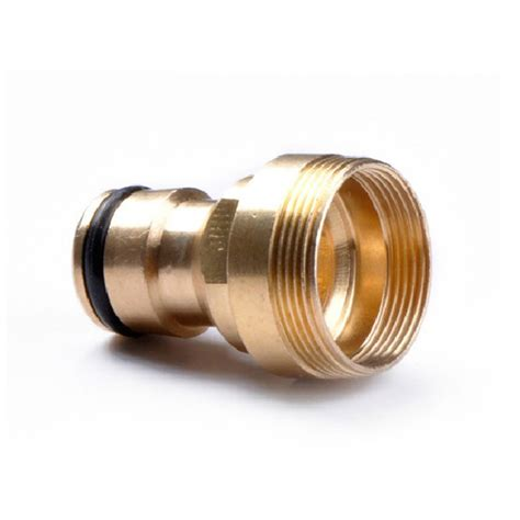 Faucet Connector by 2pcs Copper Threaded Tap Connectors 23mm