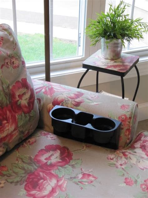 couch cushion cup holder sew many ways tool time tuesday cup holder sewing caddy