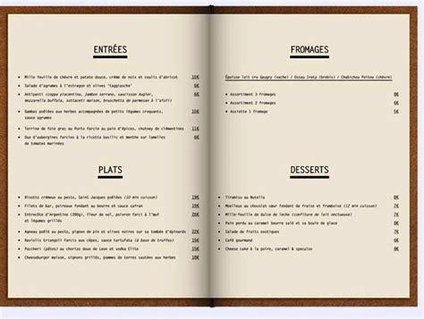 contoh desain menu kad 42 desain menu restoran yang akan menginspirasi