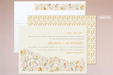 In The Spirit Of The Season Wedding Invitation Wording by Rustic Wedding Invitations For A Fall Wedding Rustic