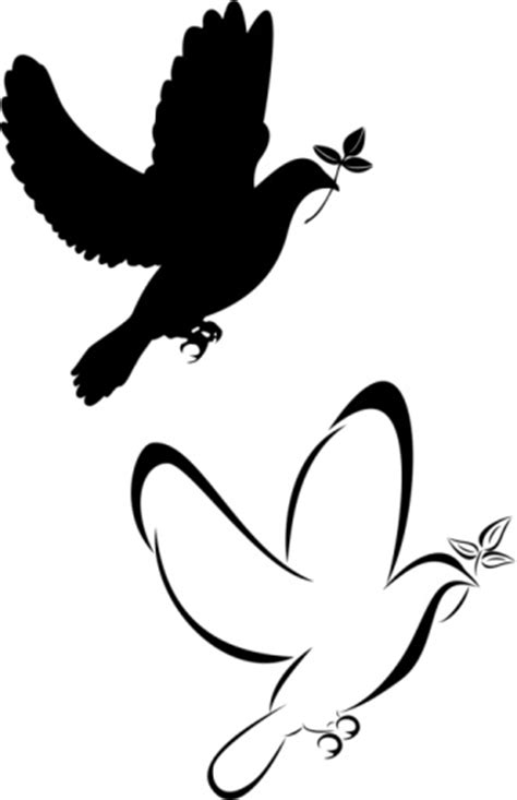 tribal dove tattoo meaning flying birds meaning clipart best