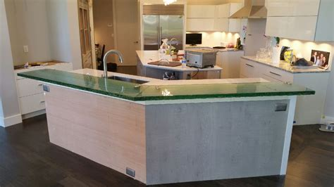 Clear Countertop by Glass Countertops The Glass Shoppe A Division Of