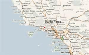 santa paula california map santa paula location guide