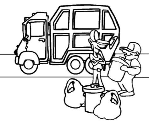 printable coloring pages garbage truck garbage truck coloring pages coloringstar