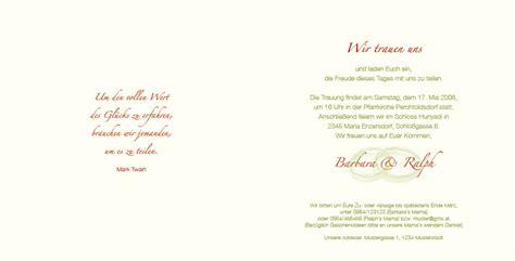 Format Hochzeitseinladung by Hochzeitseinladung Ringkunst