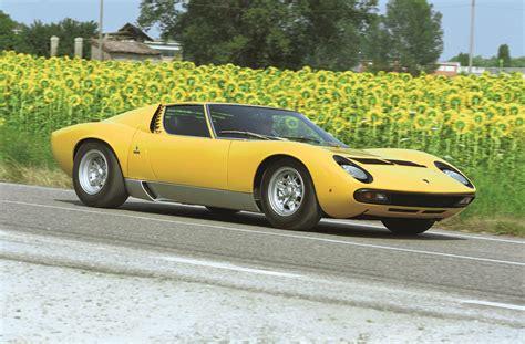 History Of The Lamborghini The History Of Lamborghini Picture Special Autocar
