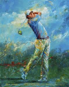 mctier art golf art