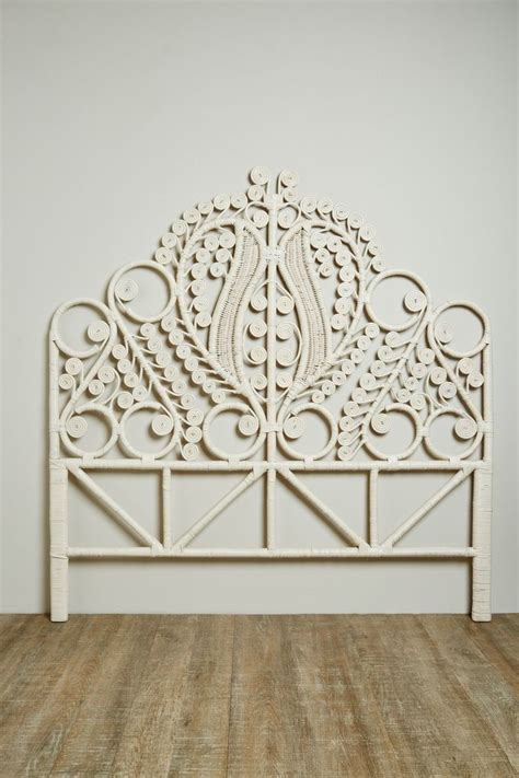queen size wicker headboard 1000 ideas about rattan headboard on pinterest rattan