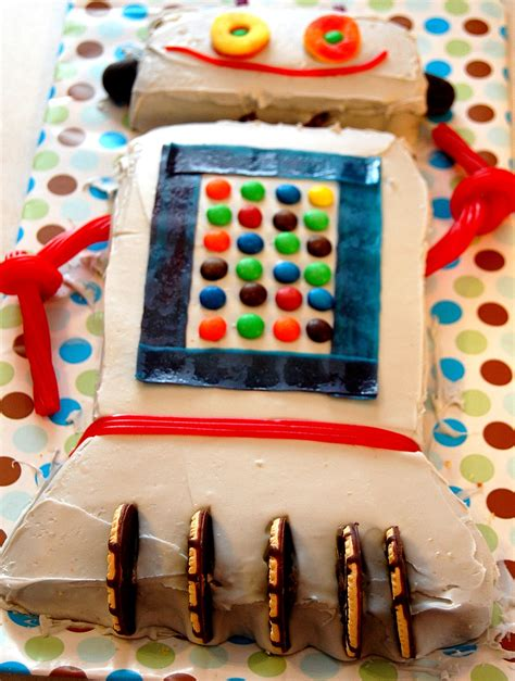 robot cake decoration ideas  birthday cakes