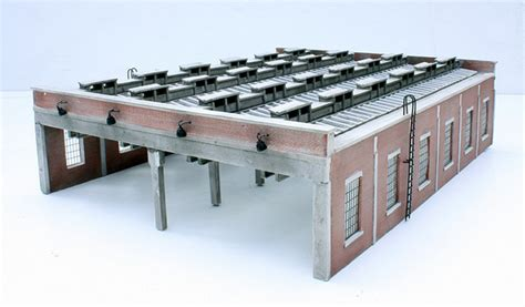 Bachmann 4 Road Engine Shed by Bachmann Scenecraft 44 050 Four Road Engine Shed Ebay