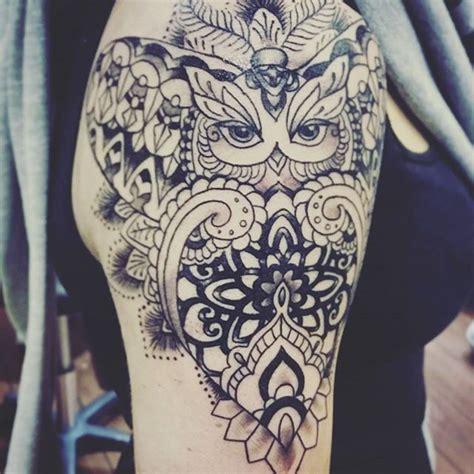 tattoo mandala owl 226 best tattoos images on pinterest tattoo ideas