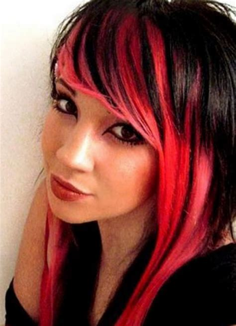 Hairstyles Red And Black Hair | red and black hairstyles
