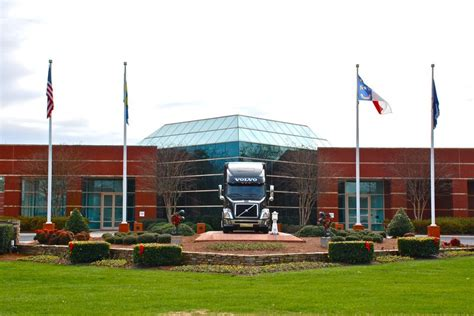 volvo carolina headquarters v is for volvo trucks america greensboro daily photo