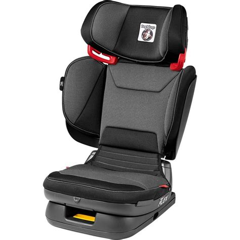 2 Autos 2 Kindersitze by Peg Perego Auto Kindersitz Viaggio 2 3 Flex Crystal Black
