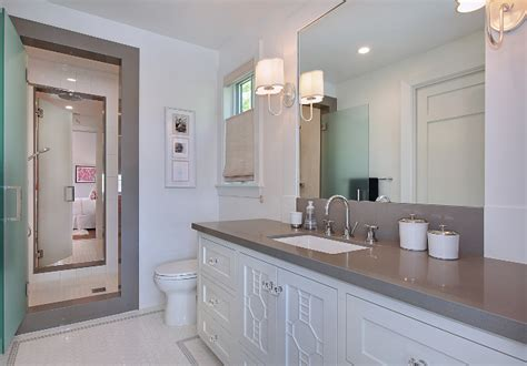 pictures of jack and jill bathrooms california family home with transitional coastal interiors
