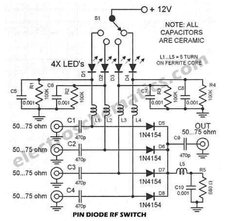 pin diode rf switch tutorial rf switch with pin diode
