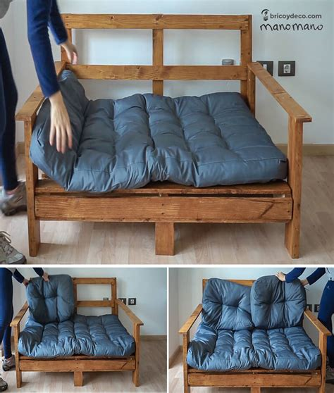 sofa con palets paso a paso c 243 mo hacer un sof 225 con palets tutorial paso a paso