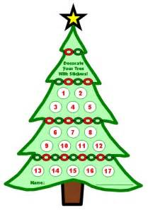 winter and christmas sticker charts a fun way to chart