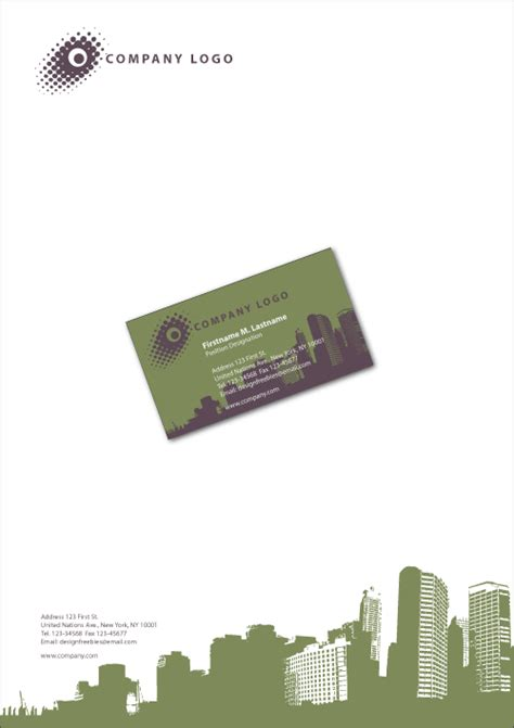 business card letterhead inspiration the around us graphic design exle